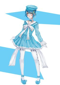 Request : Sayaka Miki by silvely