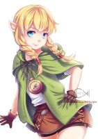 Linkle [NSFW available via patreon] by Chiroyo