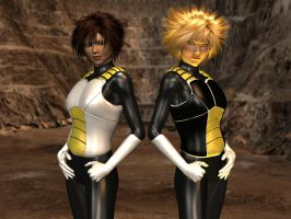 Saiyan Armor For Xurge3D's Peacemaker For M4/V4 by Seiginotora