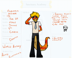.: S-A : Augustus :. by Rainb0wTwister