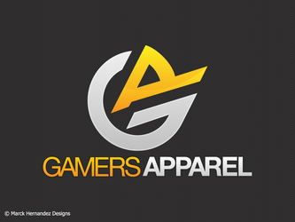 Gamers Apparel Logo by shadow2511