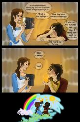 Aug 23 Belle and Zuko by iesnoth