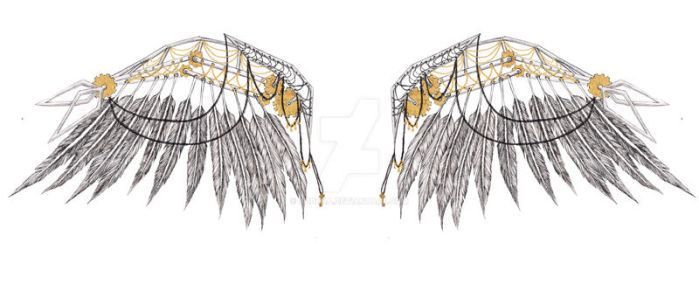 Steampunk Wings by ADDena
