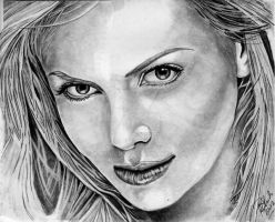 Charlize Theron by B-Richards