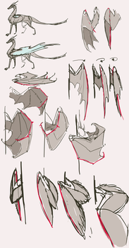 (folded)Wings reference part2 by Remarin