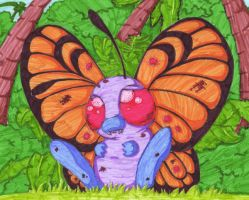 Tropical butterfree by experiments