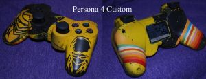 Persona 4 Custom PS3 Controller by Clinkorz