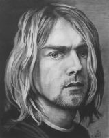 Kurt Cobain by ArtsyKD13