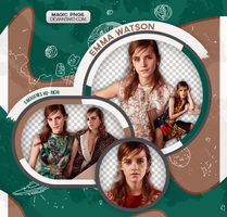 PACK PNG 555| EMMA WATSON by MAGIC-PNGS