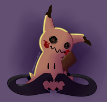 Mimikyu by NotReallyScience
