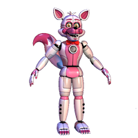 Funtime Foxy (Extra Cutout) by TheRealBoredDrawer