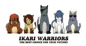 Furry Warriors by LHDip