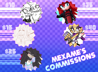 Commission Sheet by mexame