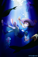 The Deep Blue Sea by Akimiya