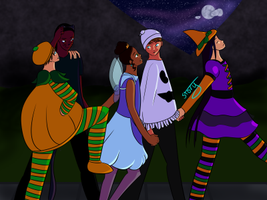 Trick-or-Treat by Ahtilak