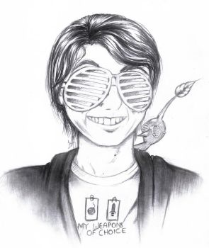 Cool Guy Miyamoto by Macabrelle