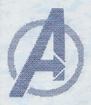 +Blackwork+ Avengers Assemble by gatchacaz