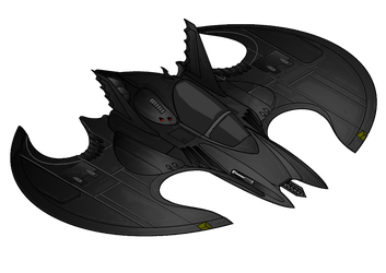 The Batwing by Alexbadass