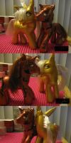 Marron and Lucius Pony by modesty