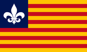 Proposal for a New Flag of Louisiana by Marmocet
