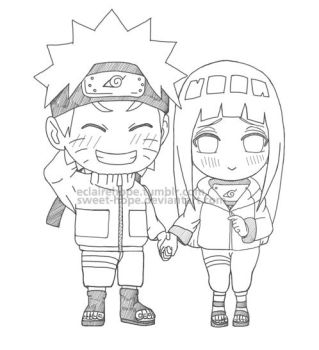 Chibis Holding Hands