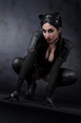 catwoman  crawling by lasupercharger