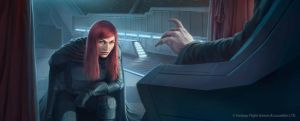 Star Wars: TCG - Mara Jade, The Emperor's Hand by AnthonyFoti