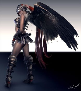 TrenchTattoo: Valkyrie by Kharnage