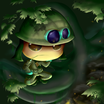 Forest Stalking by DiamondDiancie10