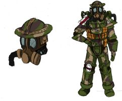 Fallout London Tommy power armor mk2 by ThePrinceofMars