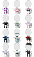 Adoptable Outfits Set Price - CLOSED by The-adopt-a-palooza