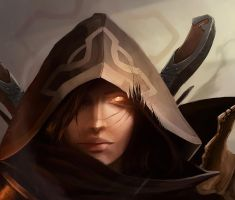 Diablo 3 fan art by canadianxeno