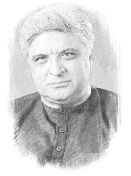 Javed Akhtar by zohebshaikhs