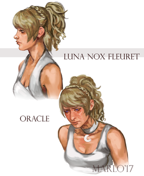 Luna face studies by lanternlovers