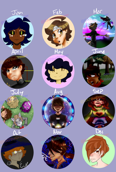 2016 Art Summary by CATtheDrawer