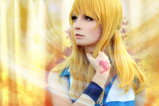 Lucy Fairy Tail - Lena cosplay by ladylucienne