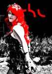 Irene Ubik Cosplaying Poison Ivy (red and black) by rbl3d