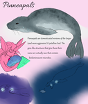 Pinneapals and Crystalline Seals by VenusRain
