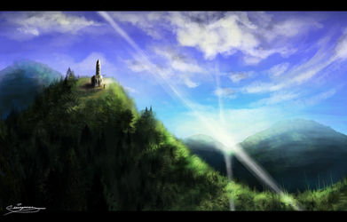 Landscape Practice by SlimmywithanS