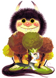 Where The Wild Things Are by Pocketowl