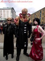 London MCM: Wesker, Nemesis and Ada by MasterCyclonis1