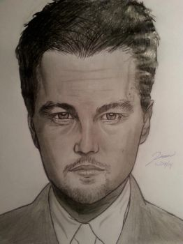 Leonardo Dicaprio Portrait by HaStyle-Music