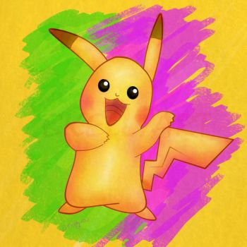 Pikachu by Truley-Unruly