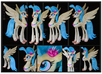 Princess Skystar Custom Plush by Nazegoreng