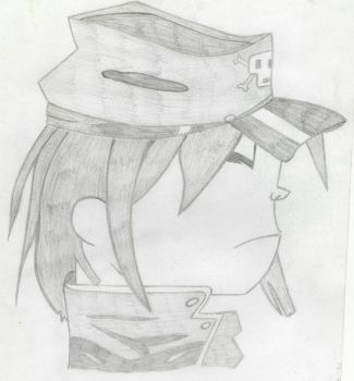 NOODLES 'The Gorillaz' by Zebbiddee