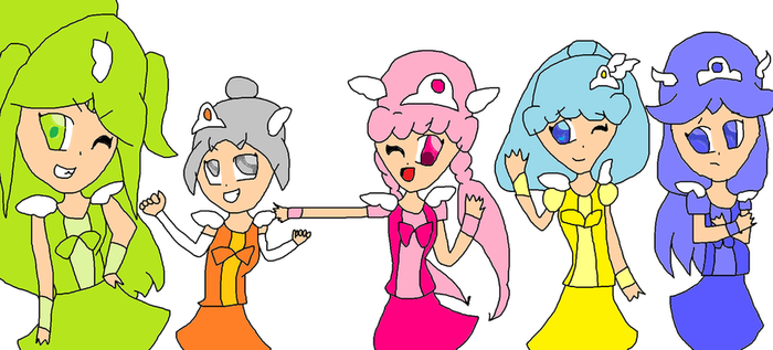 silly Bfdi Smile Pretty Cure by Phoebeartfulgirl992