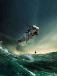 Westland Seaking SH-3A by LPBS2012