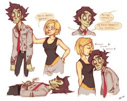 R and Julie by frizz-bee