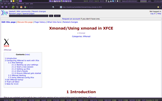 Xmoand on Xfce4 Firefox by crimesaucer