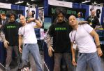 Me and a Zombie at Wonder Con 2012 by DougSQ